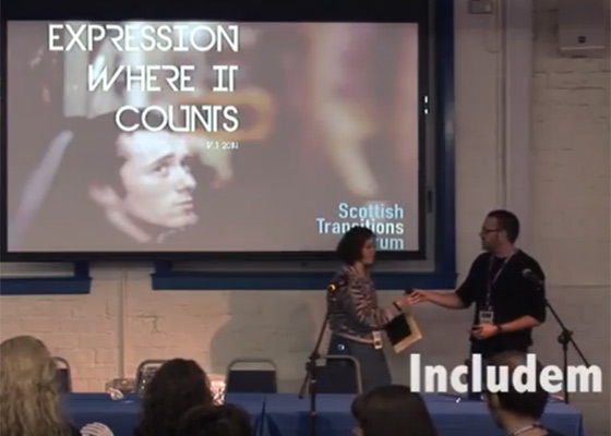 Includem – 'Expression Where It Counts'