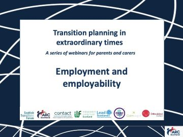 Click to hear the recording of Employment and Employability